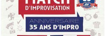 3 Avril 2013 – 35ème anniversaire du match d'impro – La Cigale