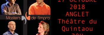 27 octobre – Masters de l'impro 2018 – Anglet